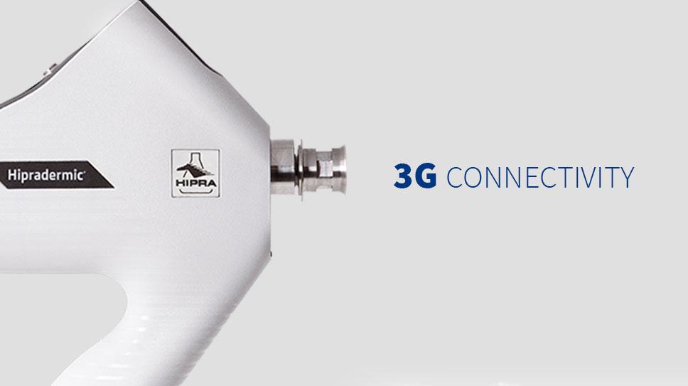 Dispositivo de vacunación intradérmica porcina con conectividad 3G